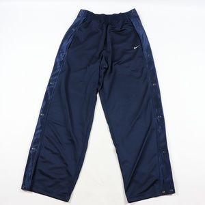 Vintage Nike Travis Scott Small Swoosh Pants Blue